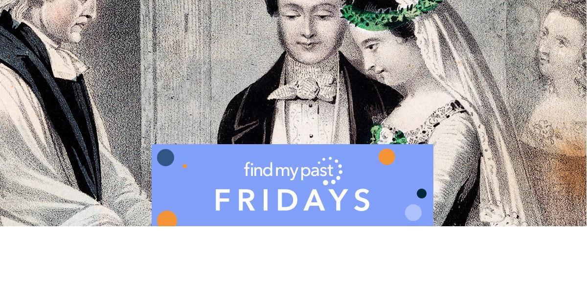Findmypast Fridays British marriage records