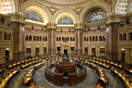 Library of Congress research room
