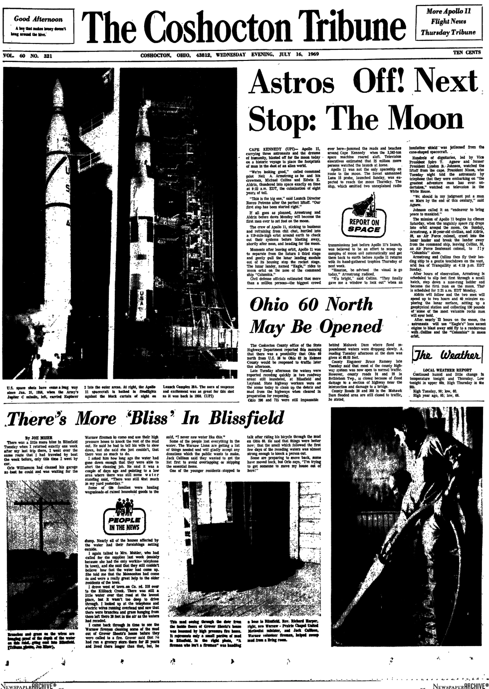 How Your Local Newspaper Reported the Moon Landing | Blog