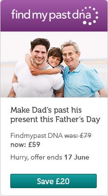Findmypast DNA Banner